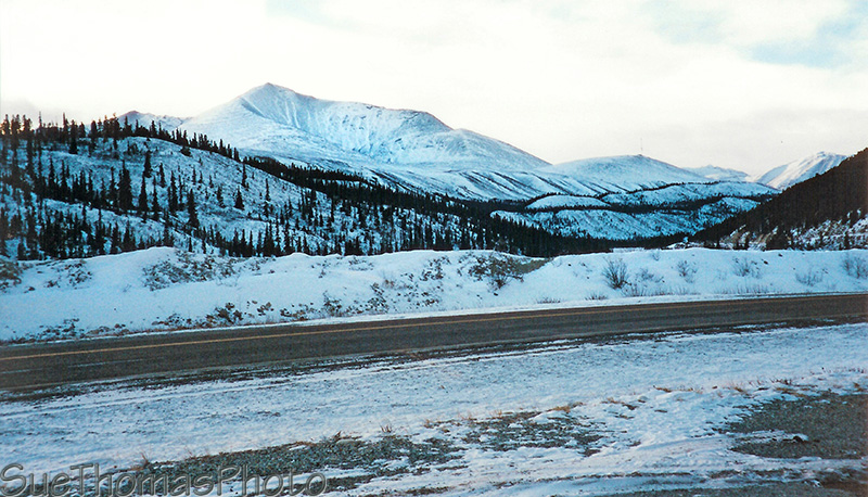 Winter on the Alaska Highway