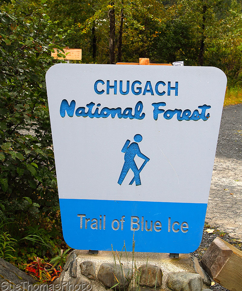 Trail of Blue Ice, Chugach National Forest, Alaska