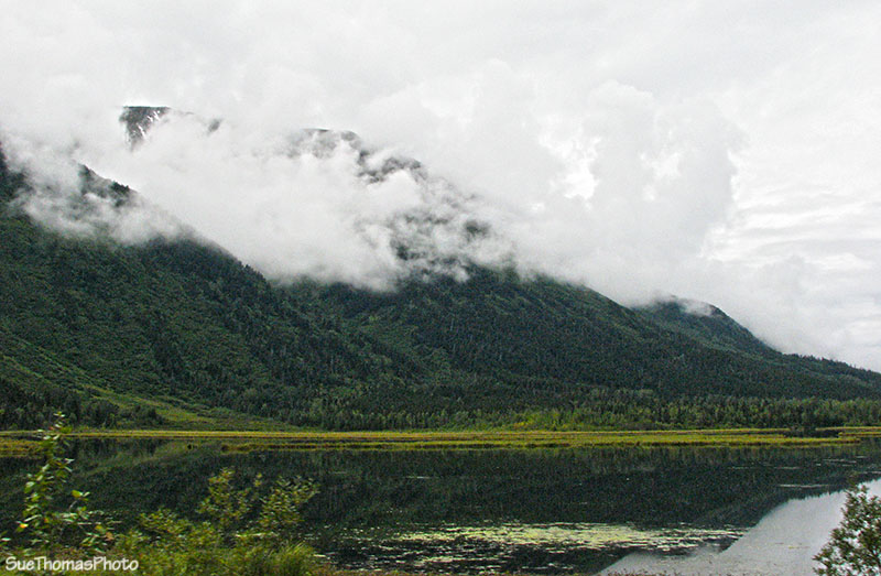 Lake at Junction of Highways 1 & 3, Alaska