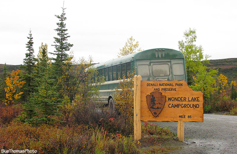 Wonder Lake Campground at Denali National Park, Alaska