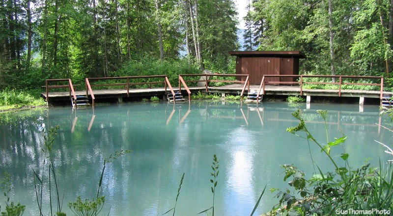 Liard Hot Springs, British Columbia