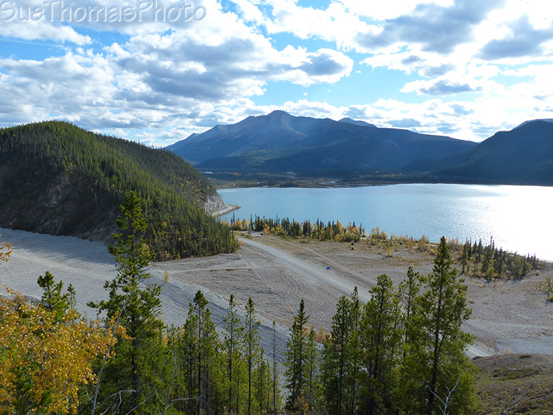 View from the old Alaska Highway