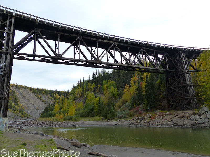 Historical Kiskatinaw Bridge