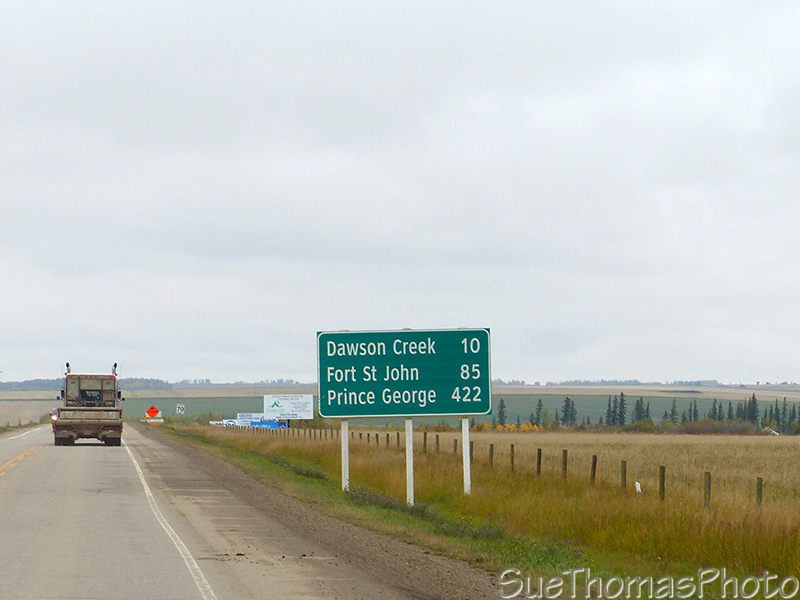 Heading to Dawson Creek