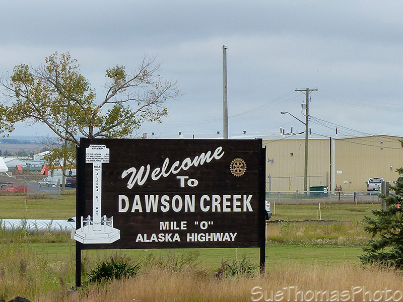 Arriving Dawson Creek