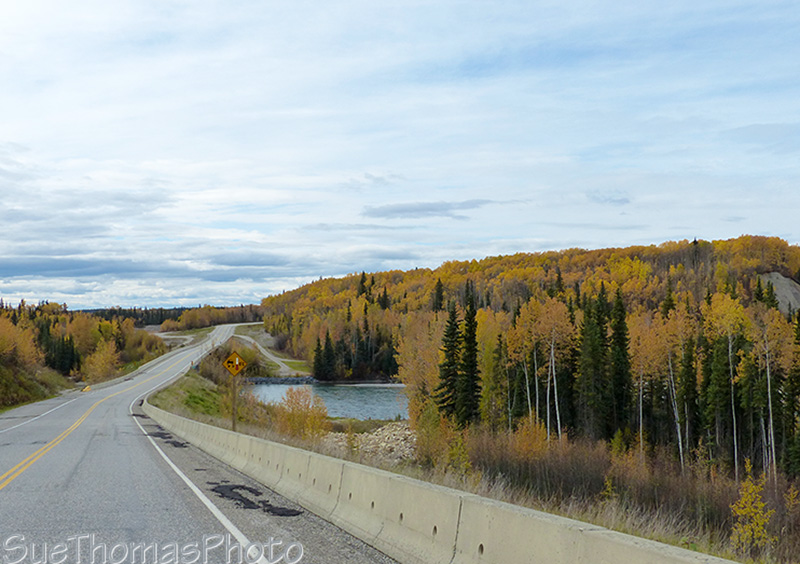 Alaska Highway northbound