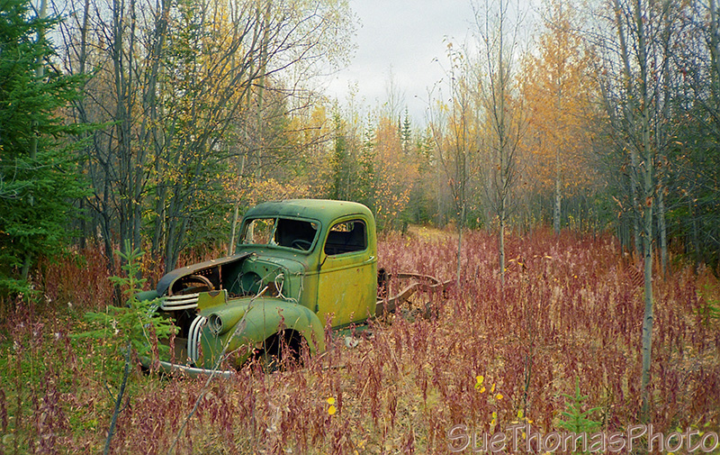 Old Truck at Snag, Yukon