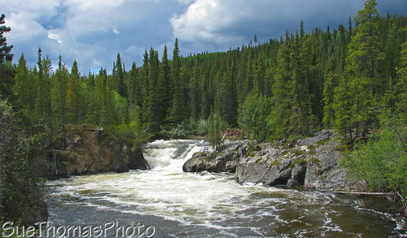 Hike to Rancheria Falls, Yukon