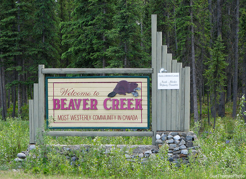 Welcome to Beaver Creek sign