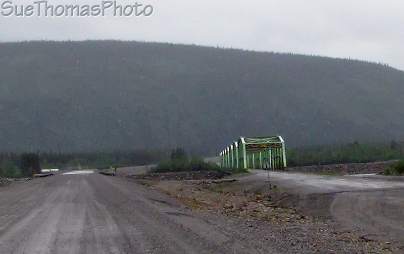Donjek River bridges, June 2008 -- on the Alaska Highway (Alcan)