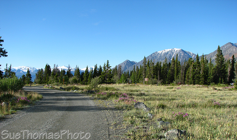 Congdon Creek campground, Kluane Lake, Yukon