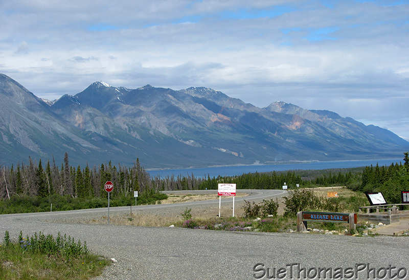 Kluane Lake Viewpoint, Yukon