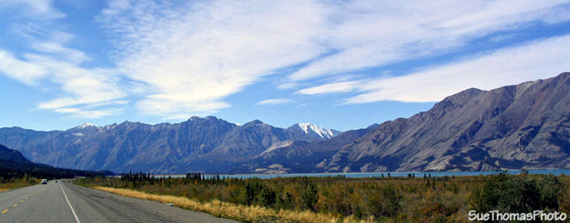 Haines Junction to Kluane Lake, Yukon