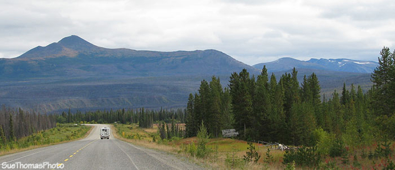 Cassiar Mountains viewed from the Alaska Highway