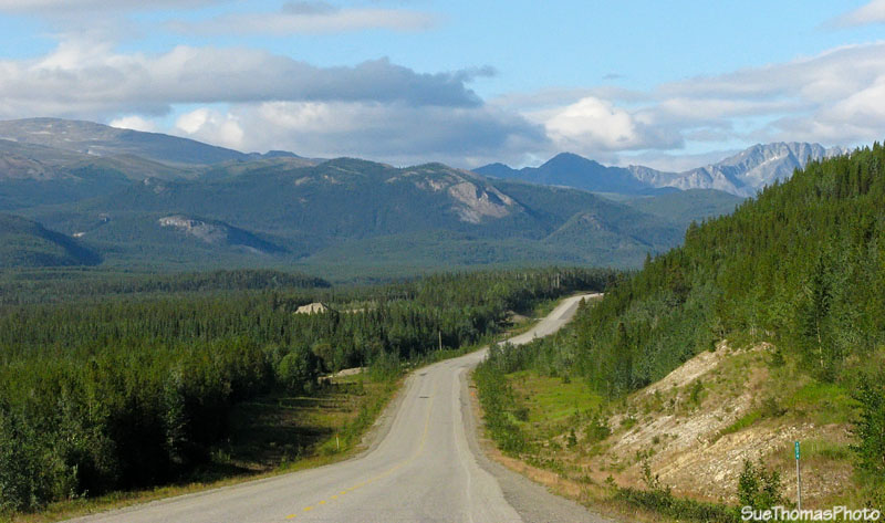 Northbound on the Alaska Highway