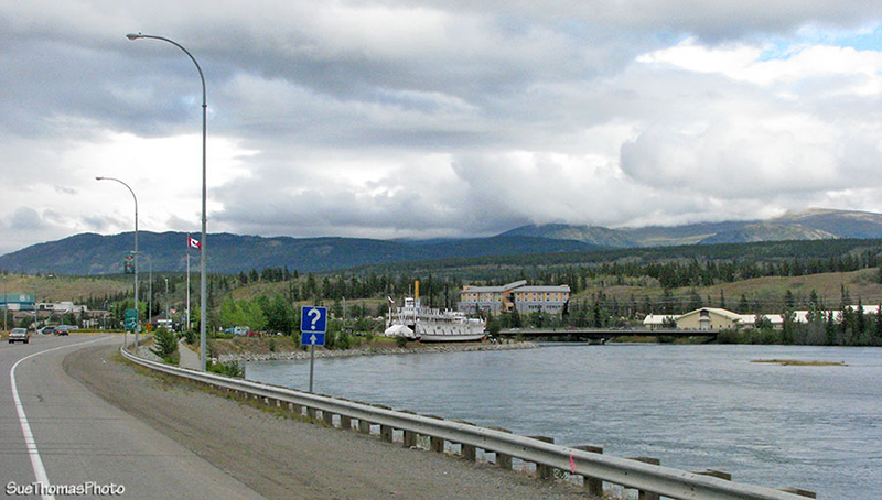 Whitehorse - Robert Service Blvd in Yukon