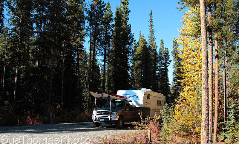Big Creek Yukon campground