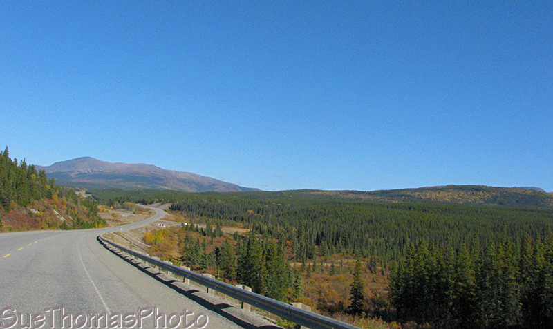Alaska Highway in Yukon
