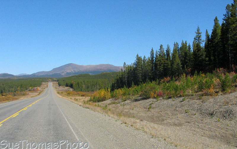 Southbound on the Alaska Highway, Yukon