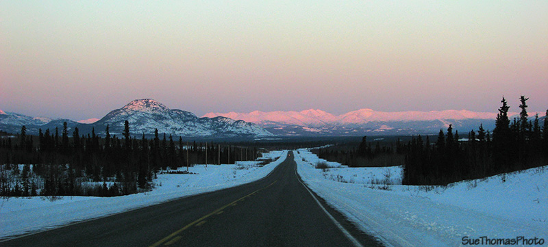 Alaska Highway south of Haines Junction