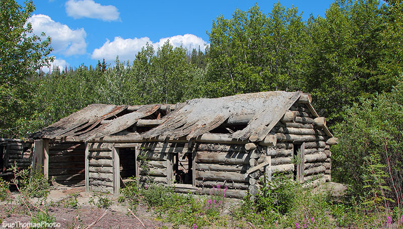 Silver City cabin, Kluane Lake, Yukon