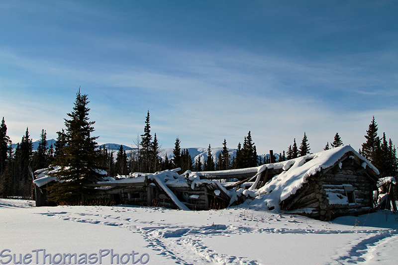 Silver City in winter, Yukon