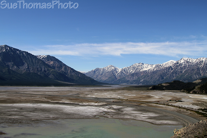 Kluane Lake, Kluane National Park, Yukon