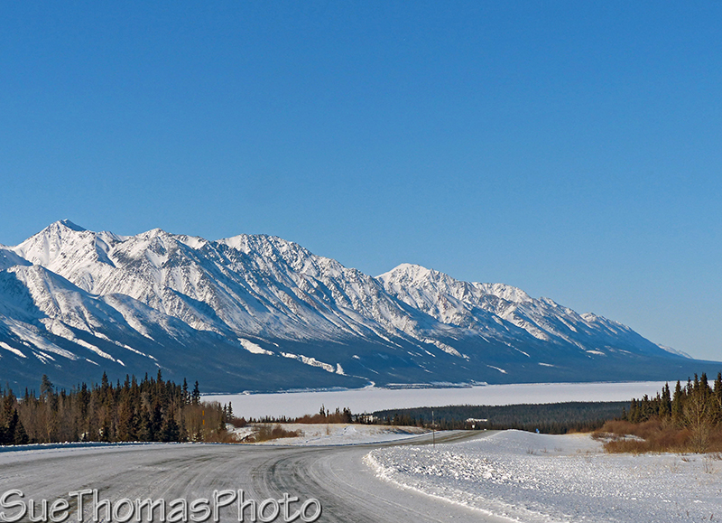 Alaska Highway - Kluane Lake