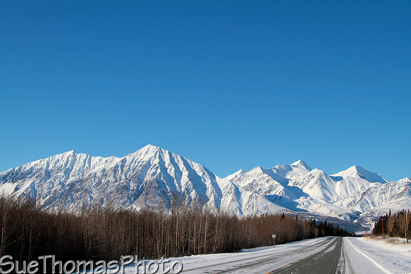 Alaska Highway near Haines Junction