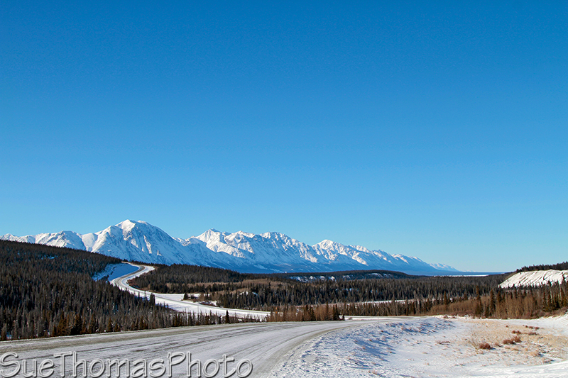 Christmas Creek on Alaska Highway