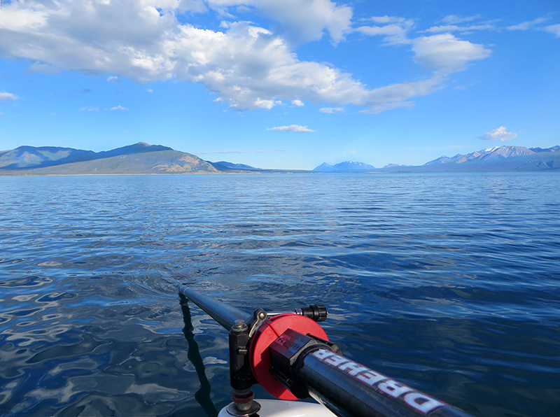 Rowing Kluane