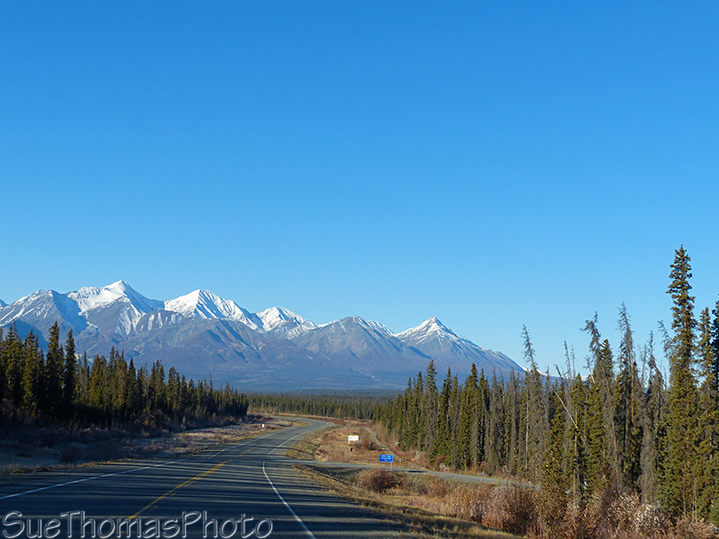 Approaching Haines Junction on the Alaska HIghway