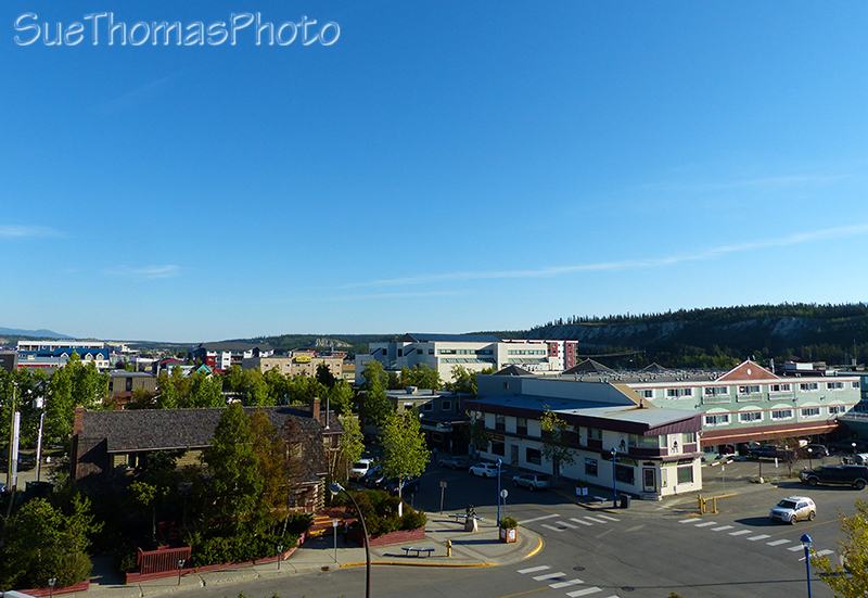 Downtown Whitehorse