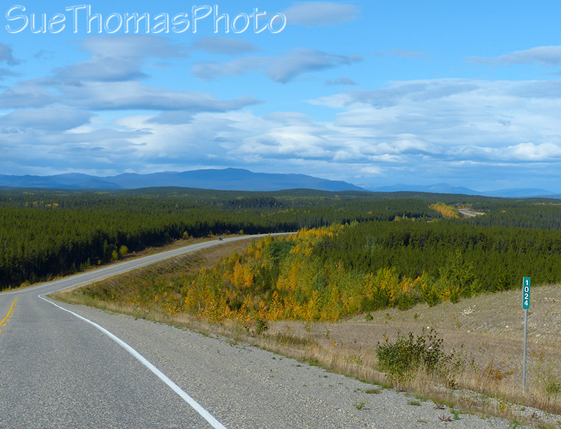 Northbound on the Alaska Hwy