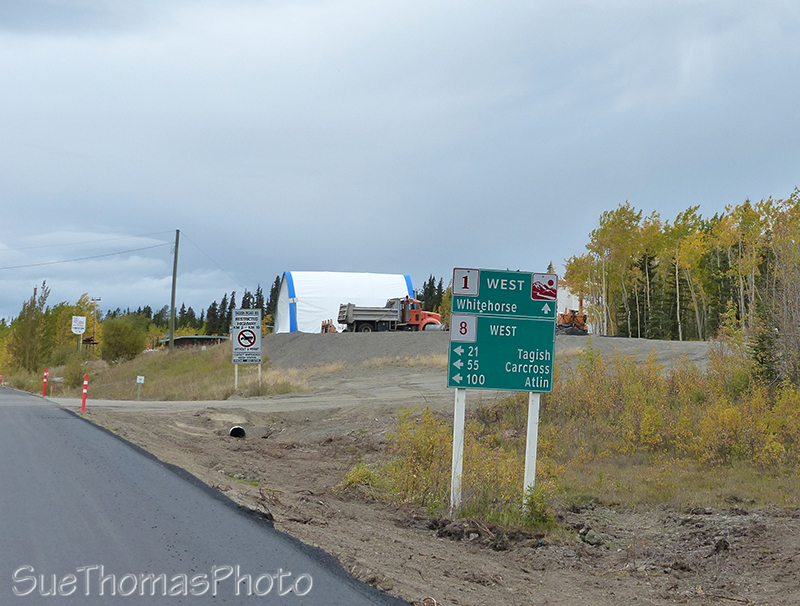 Jakes Corner on the Alaska Hwy