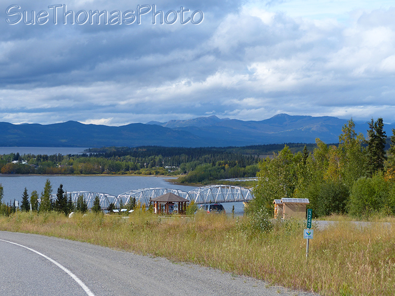 Teslin Bridge on the Alaska Highway