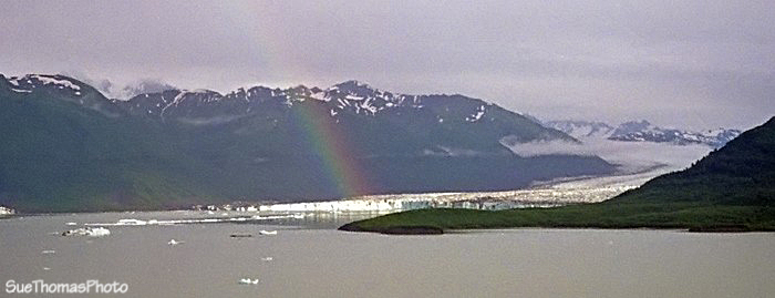 Rainbow at Alsek Lake