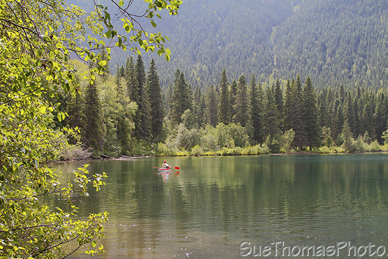 Heart Lake, Pine LeMoray Provincial Park, British Columbia