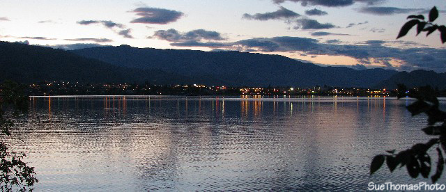 Osoyoos seen from Haynes Point, B.C.