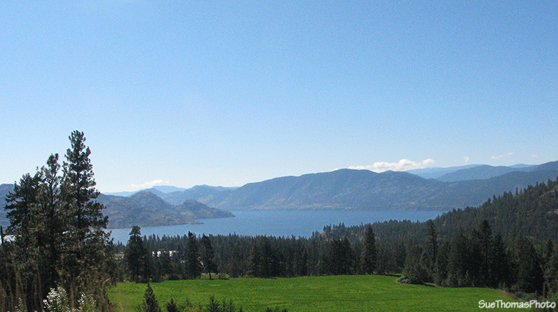 Okanagan Lake from Highway 97C