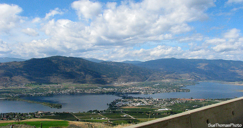 Approaching Osoyoos, British Columbia on Highway 3