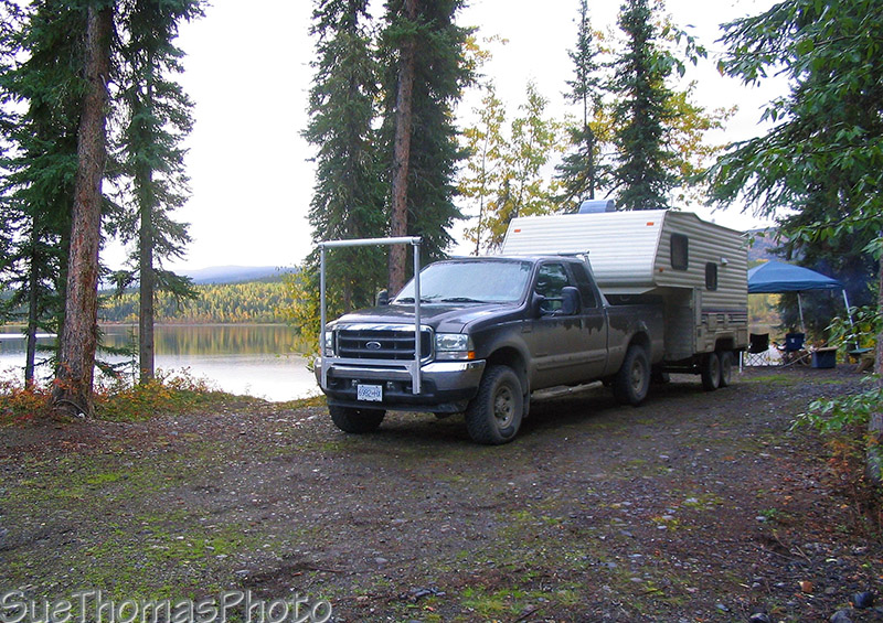 Campground at Frances Lake, Yukon