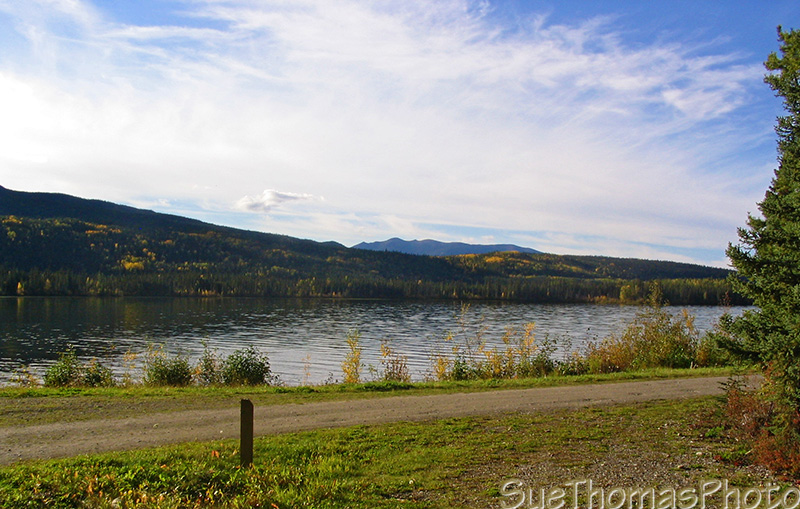 Simpson Lake campground, Yukon