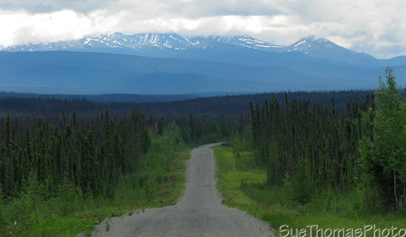 Gravel on the Campbell Highway, Yukon
