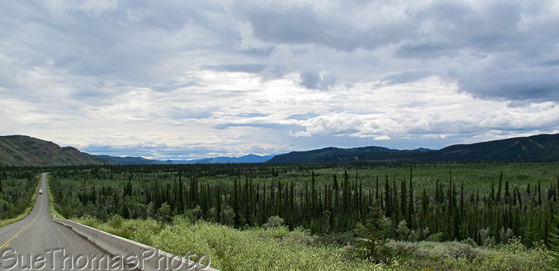 Eastbound on the Campbell Highway, Yukon