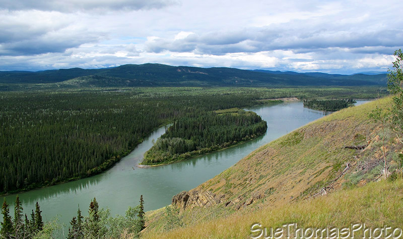 Campbell Highway and the Yukon River, Yukon