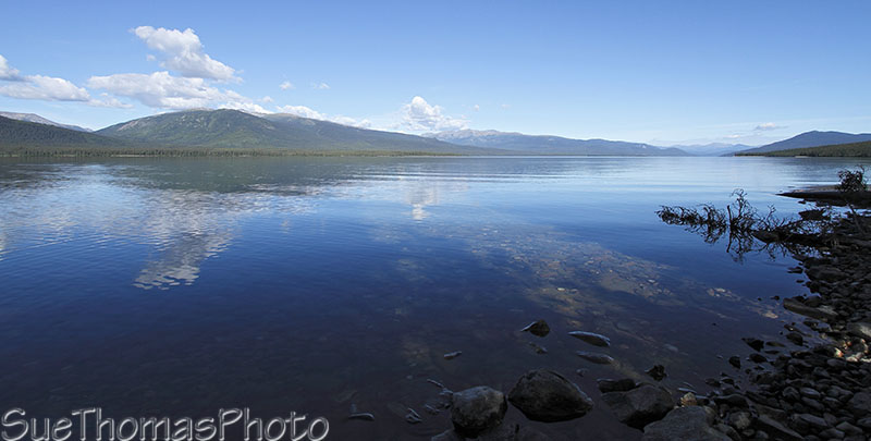 Quiet Lake on South Canol in Yukon