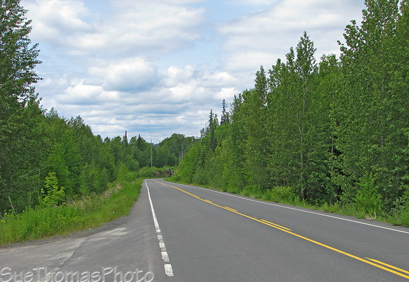 Picture of south end of the Cassiar Hwy, BC
