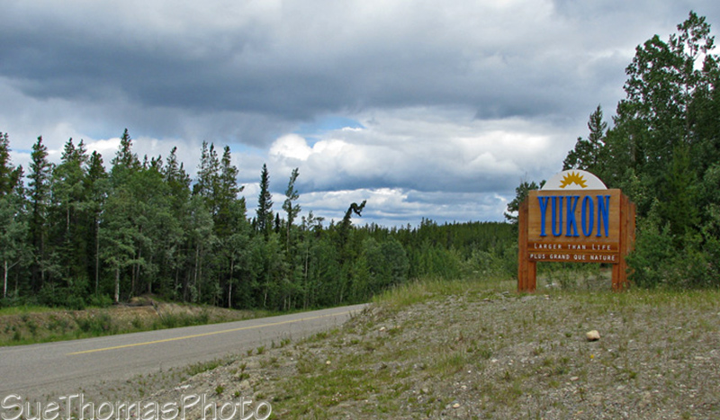 B.C. & Yukon border on the Cassiar Highway