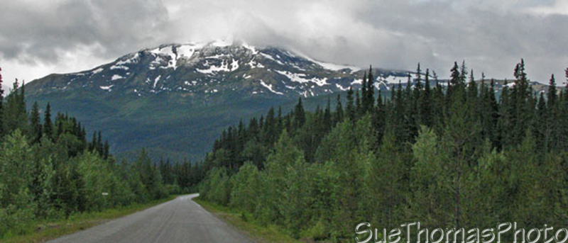 Southbound on the Cassiar Highway, BC